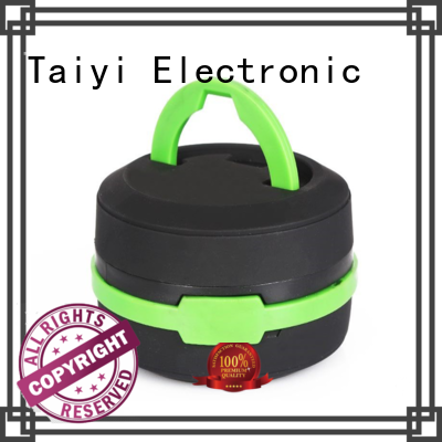 Taiyi Electronic durable best rechargeable led lantern manufacturer for roadside repairs