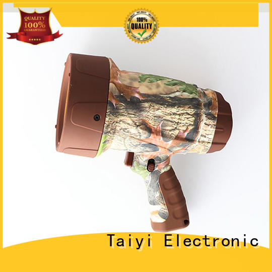 Taiyi Electronic rechargeable search light series for security