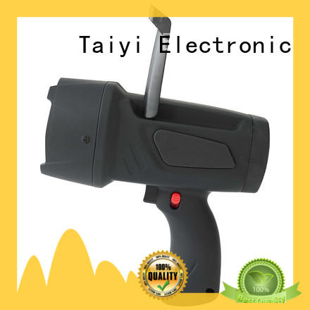 Taiyi Electronic battery cordless spotlight manufacturer for security