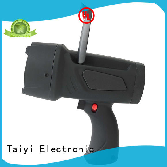 Taiyi Electronic rechargeable handheld battery spotlight wholesale for search