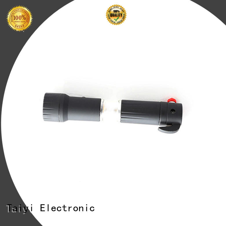 Taiyi Electronic function waterproof flashlight supplier for multi-purpose work light