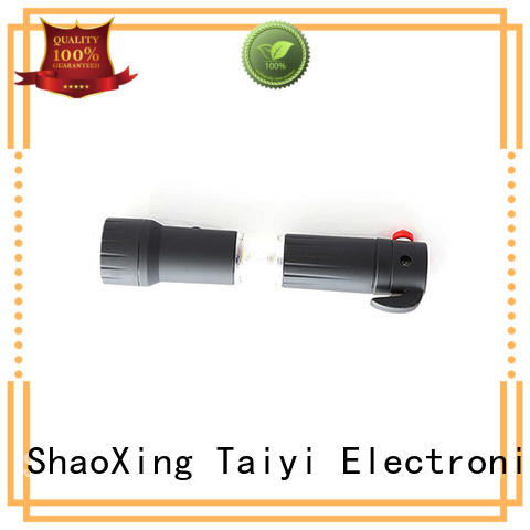 Taiyi Electronic operator super bright flashlight supplier for roadside repairs