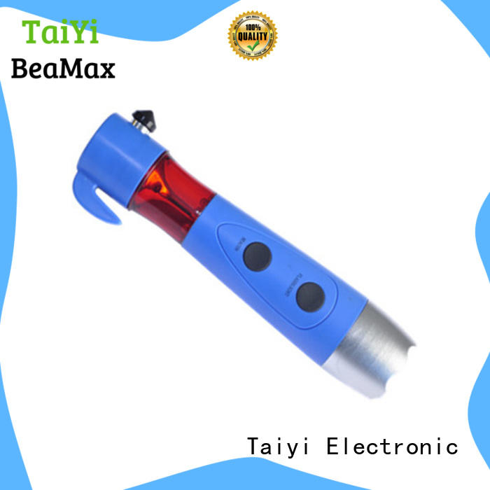 Taiyi Electronic hammer best rechargeable flashlight wholesale for roadside repairs