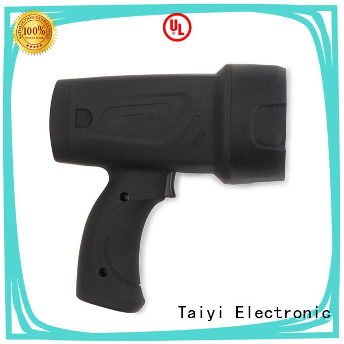 Taiyi Electronic outdoor portable searchlight rechargeable manufacturer for search