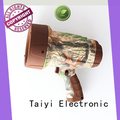 Taiyi Electronic well-chosen battery powered handheld spotlight series for camping