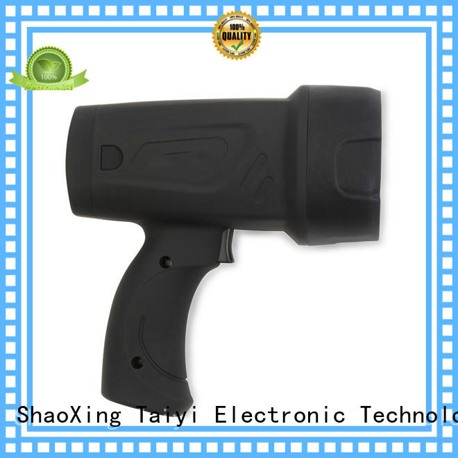 Taiyi Electronic durable most powerful handheld spotlight supplier for sports