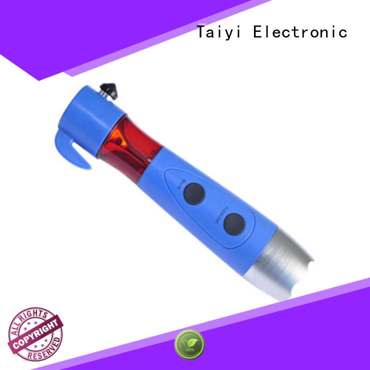 Taiyi Electronic flashlight brightest led flashlight supplier for multi-purpose work light