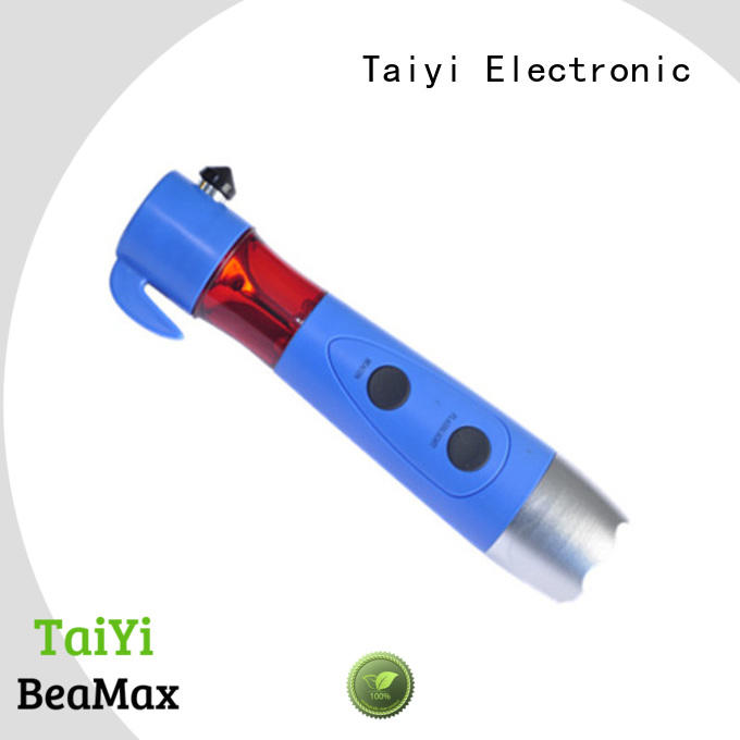 Taiyi Electronic function 1000 lumen flashlight supplier for roadside repairs