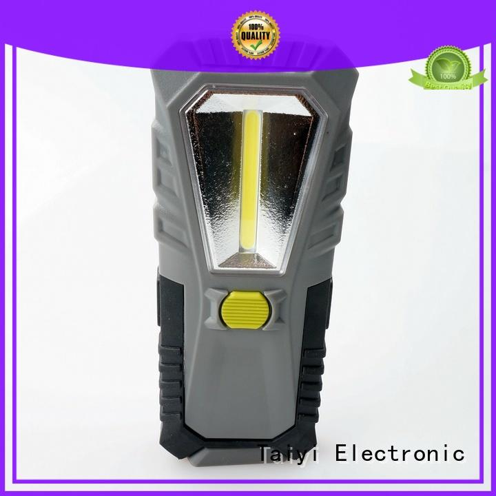 high quality rechargeable magnetic work light camping supplier for roadside repairs