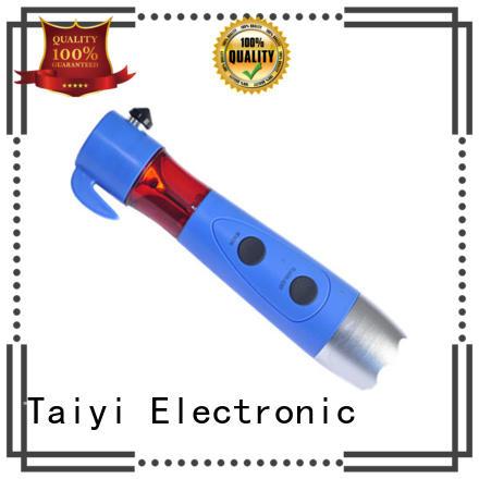 Taiyi Electronic 5-1 multi function brightest led flashlight manufacturer for electronics