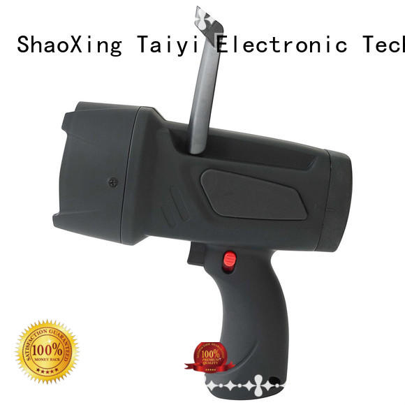 Taiyi Electronic search rechargeable handheld spotlight manufacturer for search