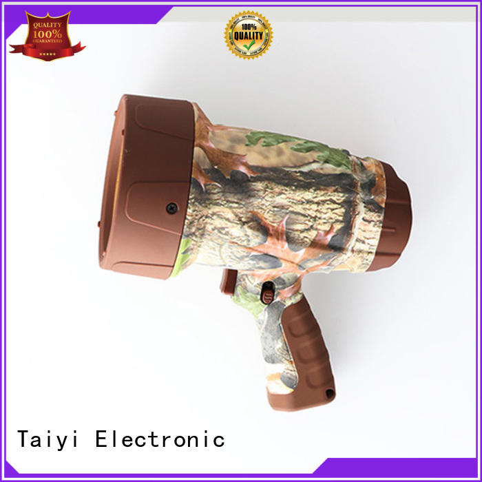 Taiyi Electronic high quality powerful handheld spotlight supplier for search