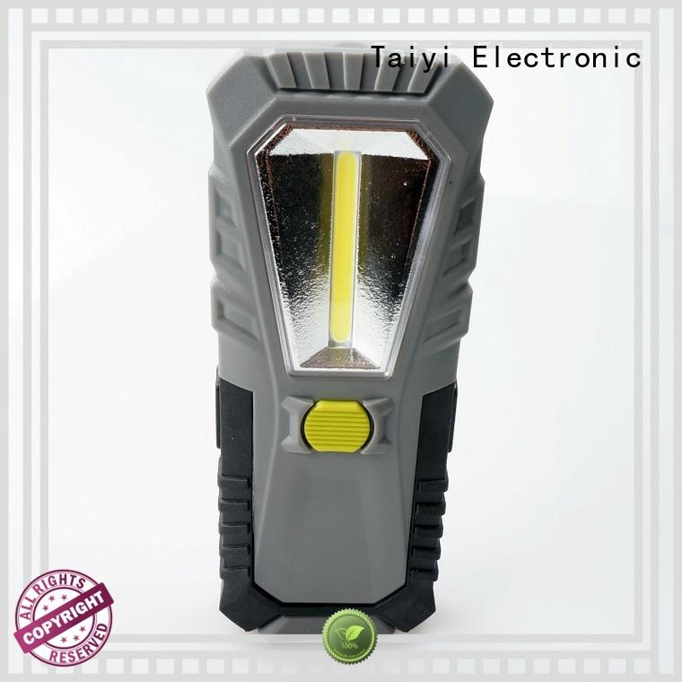 Taiyi Electronic quality rechargeable cob work light supplier for roadside repairs