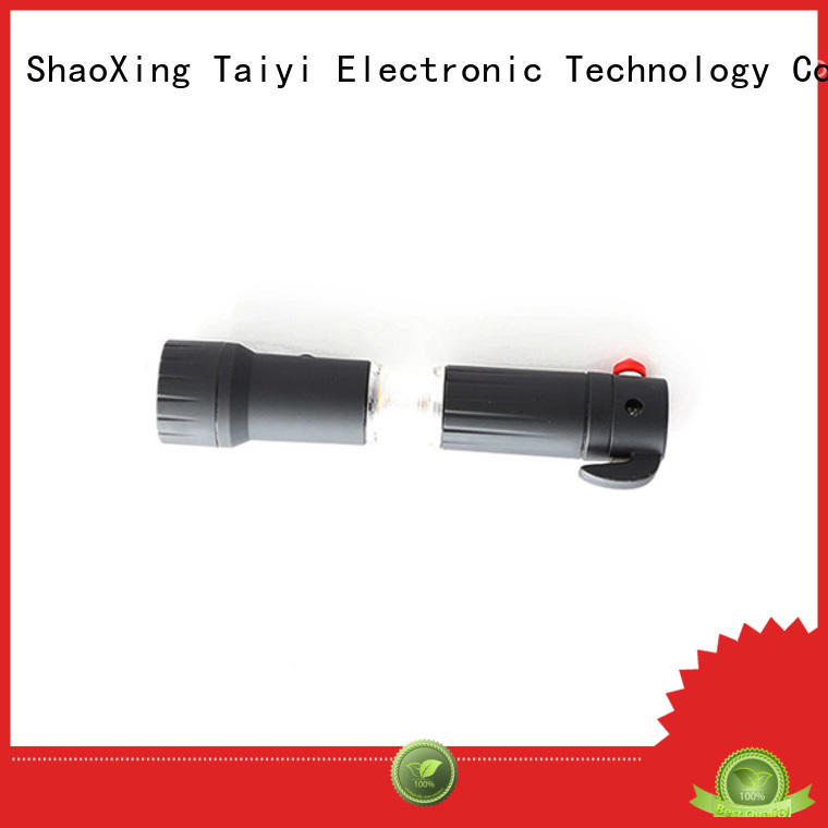 Taiyi Electronic 5-1 multi function led flashlight series for roadside repairs