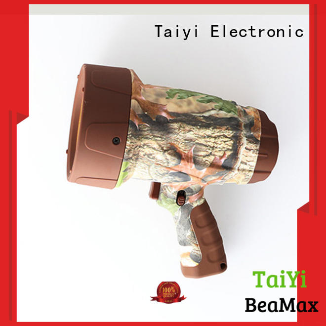 Taiyi Electronic reasonable brightest rechargeable spotlight supplier for sports