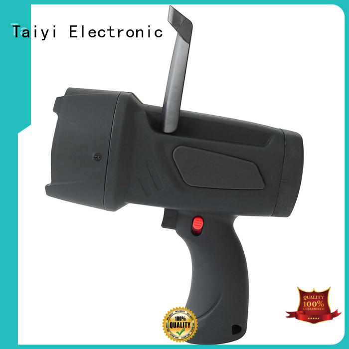 Taiyi Electronic professional powerful handheld spotlight powerful for vehicle breakdowns